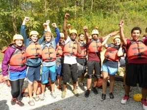 Duquesne Student White Water Rafting