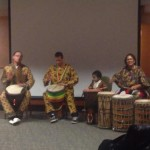 African Drumming during UAS Showcase Afrique
