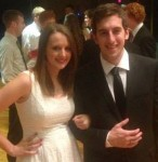 Chairman Brian Bost and Sigma Nu Sweetheart Bethany Yost of AST