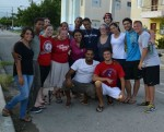 Students who attended the trip to San Juan de La Maguana, Dominican Republic this past fall