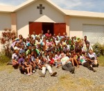 The day camp at the Spiritan Mission in San Juan de la Maguana, Dominican Republic
