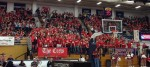 Largest student crowd recorded in the A.J. Palumbo Center