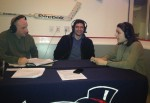 Organizational representatives, Attila Mihalik and Mary Somma being interviewed by ESPN 970.