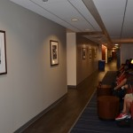 Hallway leading to the Commuter Center