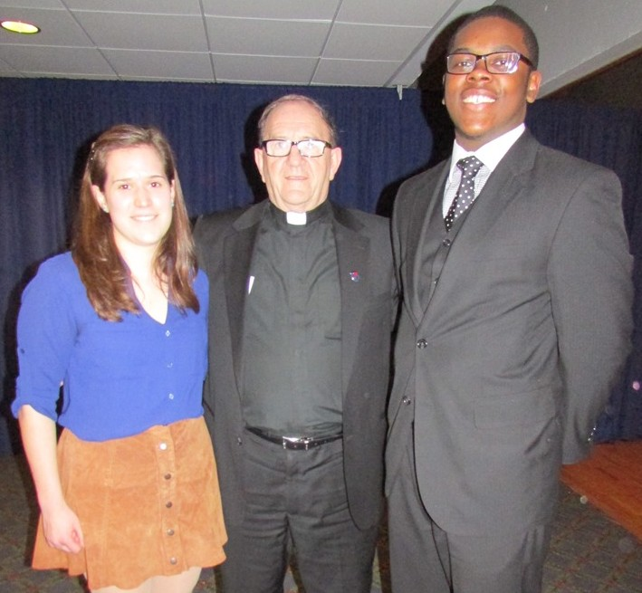 Colleen Yanarella, Fr. Sean Hogan, Don Crawford