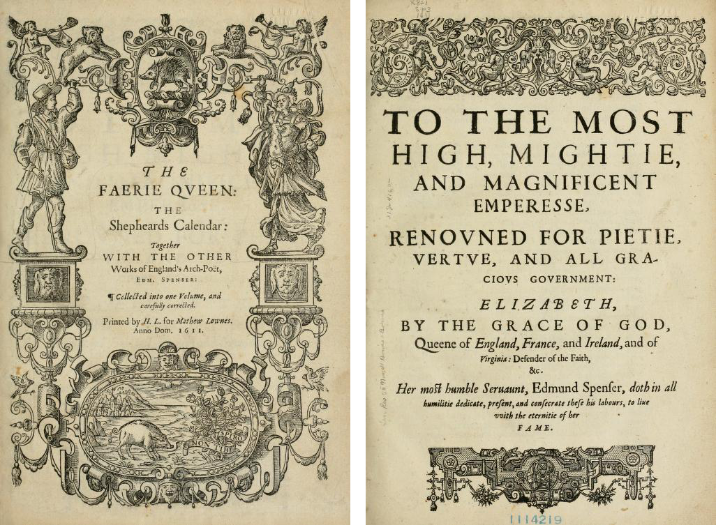 "Alumnus Donates Rare 1611 Edition of ""The Faerie Queene"" 