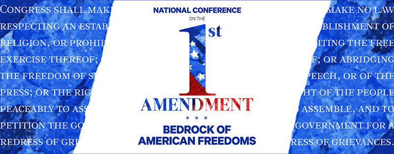 First Amendment Conference banner