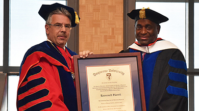 Dominica honorary degree