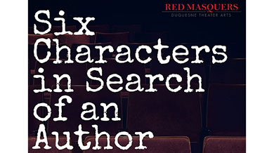 Six characters in search of an author flyer
