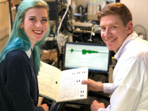 Heather Allen and Dr. Benedict Kolber