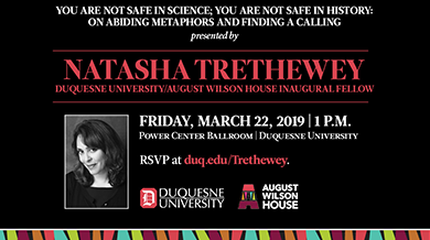 Trethewey event poster