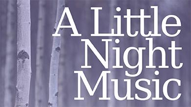 A Little Night Music flyer