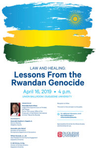 Law and Healing: Lessons from the Rwandan Genocide art