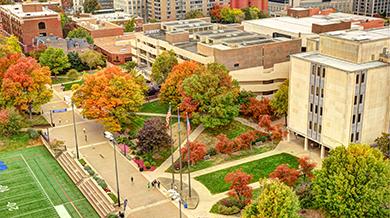 Duquesne's campus