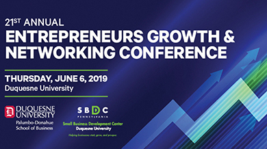 Entrepreneurs Growth and Networking Conference graphic