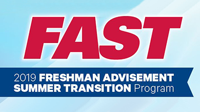 2019 Freshman Advisement Summer Transition Program