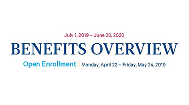 Benefits Overview - July 2019 -June 2020