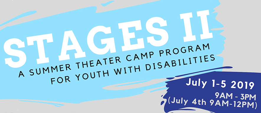 Stages 2 - Theater Camp Banner