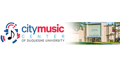 City Music Center Banner with Graphic