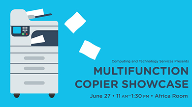 Multifunction Copier Showcase
