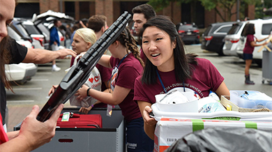Freshman Move-in and Orientation Week 2019