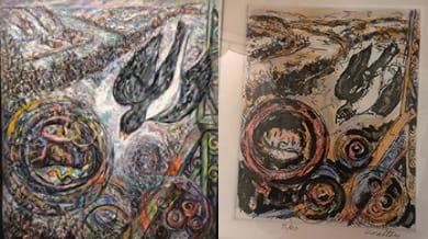 Qualters Paint Collage