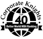 Better World MBA Ranking Logo