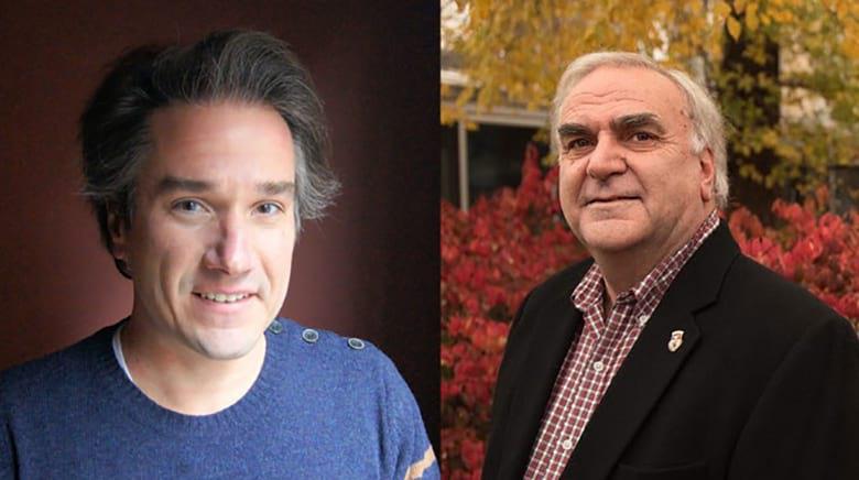 Dr. David Wasieleski (Left), Dr. Jim Weber (Right)