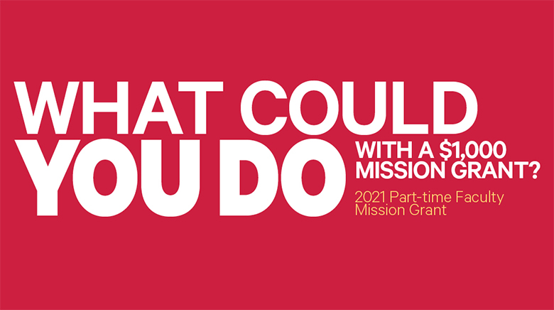 What could you do with a $1000 Mission Grant?