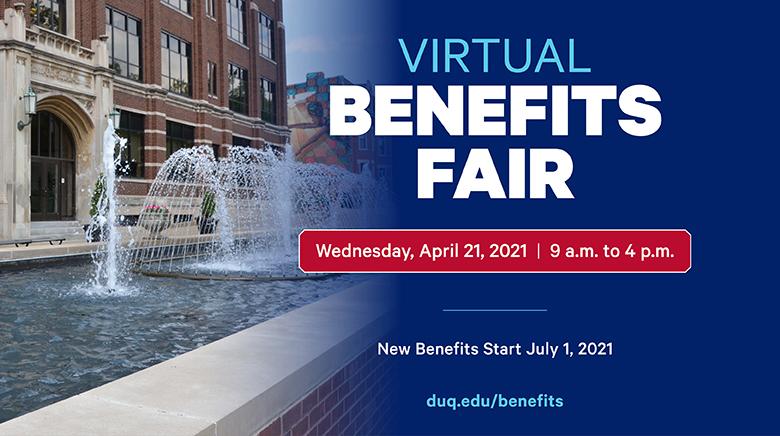 Virtual Benefits Fair Poster