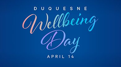 Wellbeing Days April 14