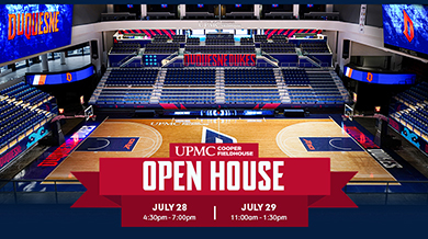 UPMC Cooper Field House Open House July 28 - July 29
