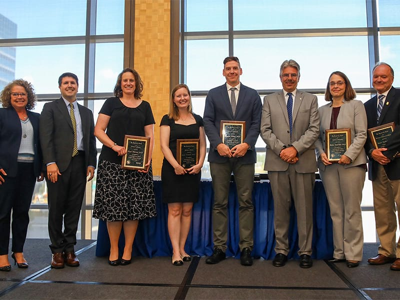 Endowed Chairs, Faculty Awards and Service Highlight Annual Reception